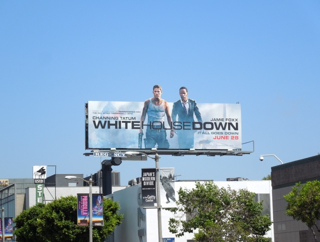 White House Down billboard ad