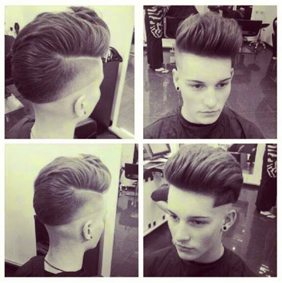 Step For Cool Boys Hairstyle