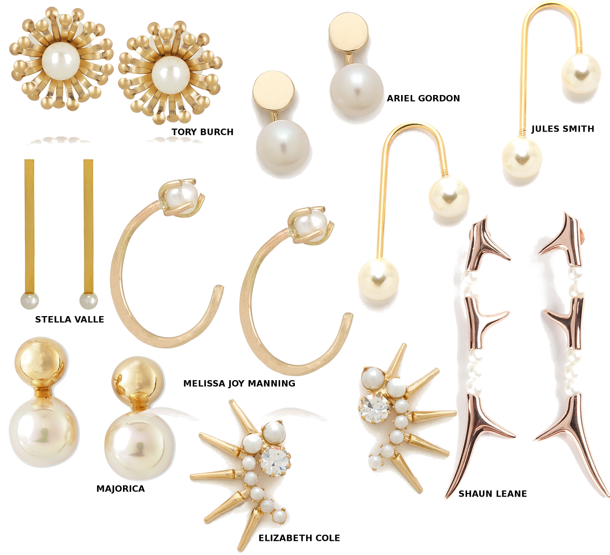 Pearl And Gold Earrings Picks