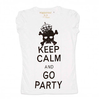 tshirt happiness keep calm