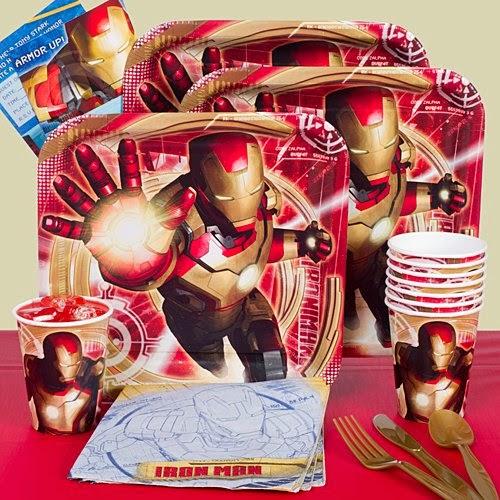 Iron Man Birthday Decorations Best Batman Hulk Iron Man