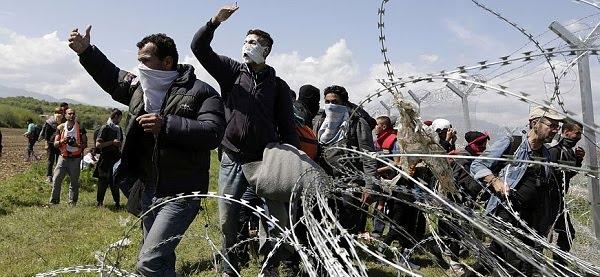 Αντιεξουσιαστές έχουν στήσει… καταυλισμό στη Ειδομένη! Οι αστυνομικοί εντόπισαν ύποπτο αυτοκίνητο με υλικά για… μολότοφ