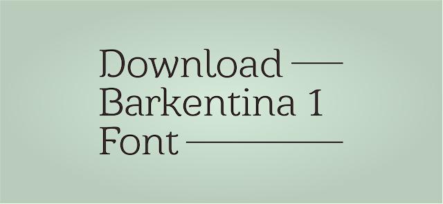 Download Font Barkentina 1