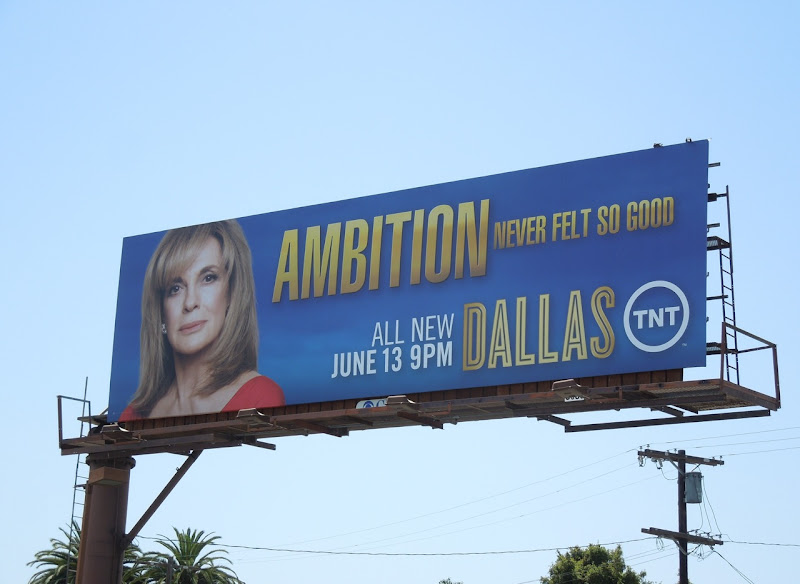 Dallas Sue Ellen Ambition billboard