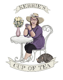 New Logo, with my new cat, Earl Grey