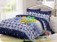 Harga V-bed Sprei Relax No.1 King Size 180×200 Jual