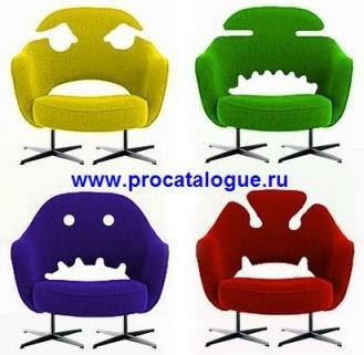 Креативные стулья в виде рожиц. Стулья на курьих ножках с забавными рожицами. Стулья на металлокаркасе.