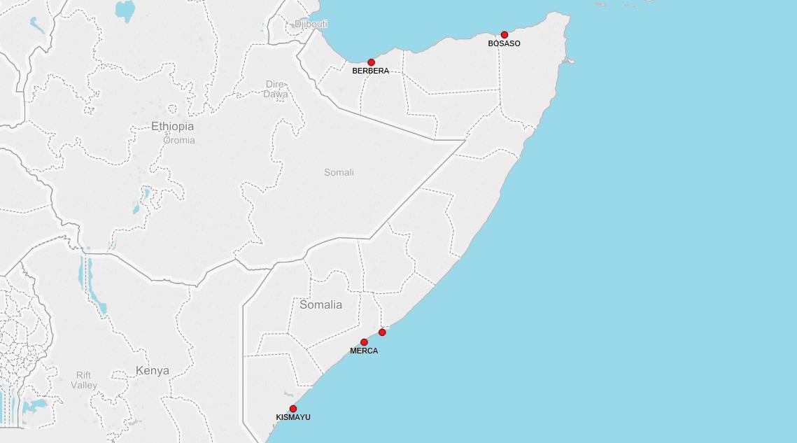 PORTS IN SOMALIA