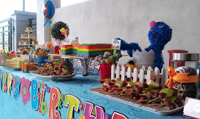 elmo theme 1st birthday
