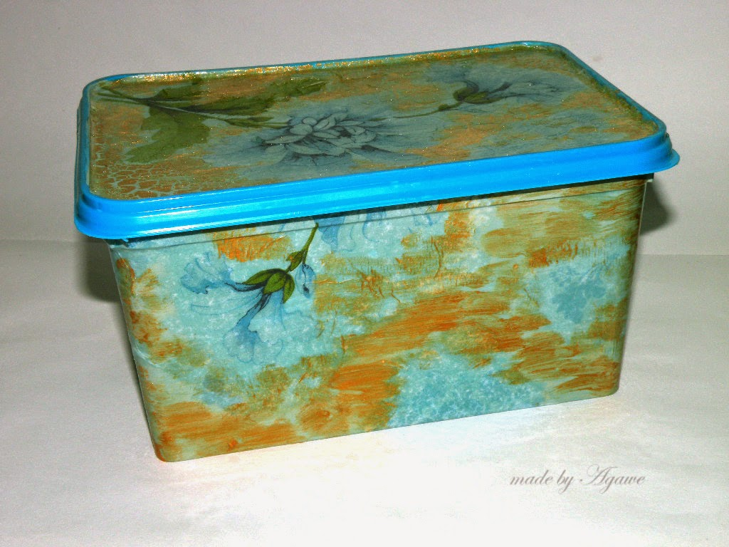 Decoupage – pudełka