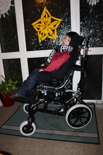 I among others who see him regularly have noticed how much progress Egbert has made with comprehension this year. He appears to be thriving at the moment ... & New wheelchair and first day back to school | Egbertu0027s Adventures