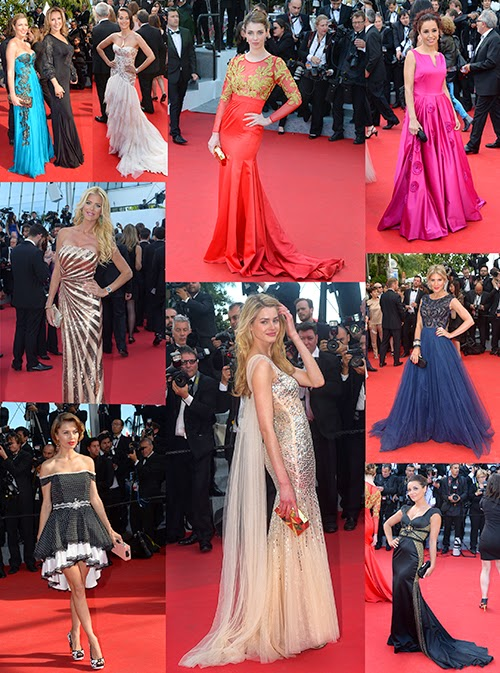 Celebrities wearing Christophe Guillarmé