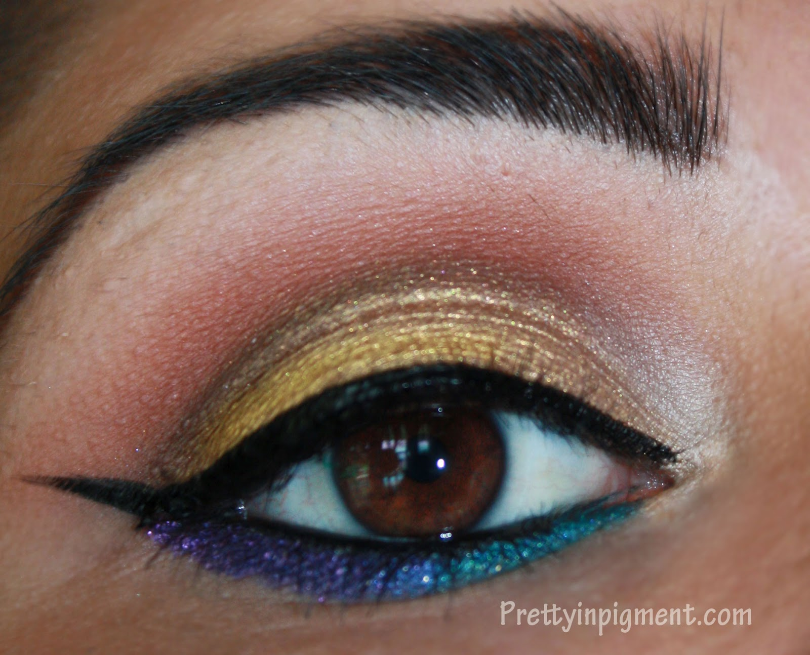 Mac style seeker makeup tutorial pretty in pigment last week mac released a new collection called style seeker the collection is inspired by a global wanderer using bright colors with an ethnic feel baditri Image collections
