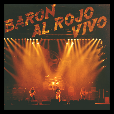 Barón Rojo - Barón al Rojo Vivo (1984) Portada