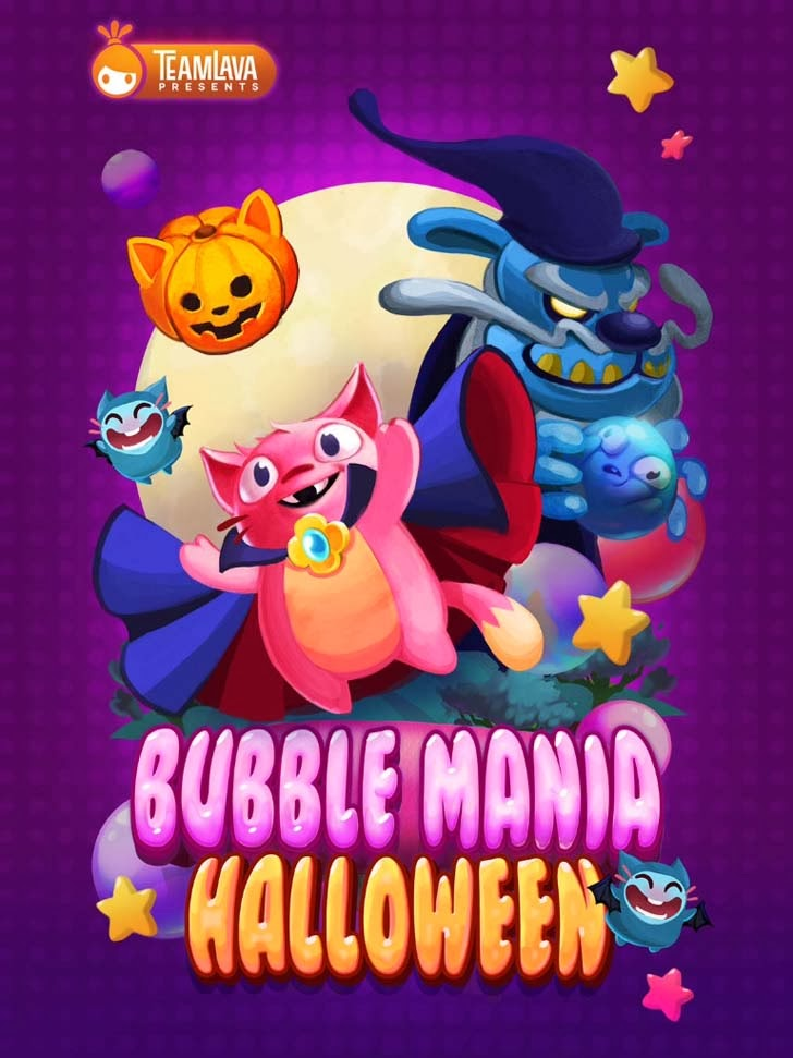 Bubble Mania: Halloween App iTunes App By TeamLava - FreeApps.ws