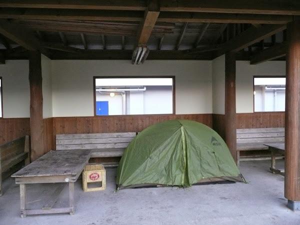 29_my tent - last dry night...
