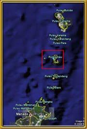 Peta Kab. Kepl. Sitaro
