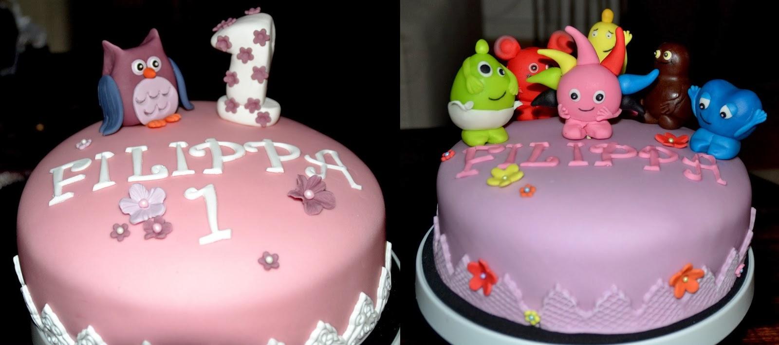 1 års tårtor