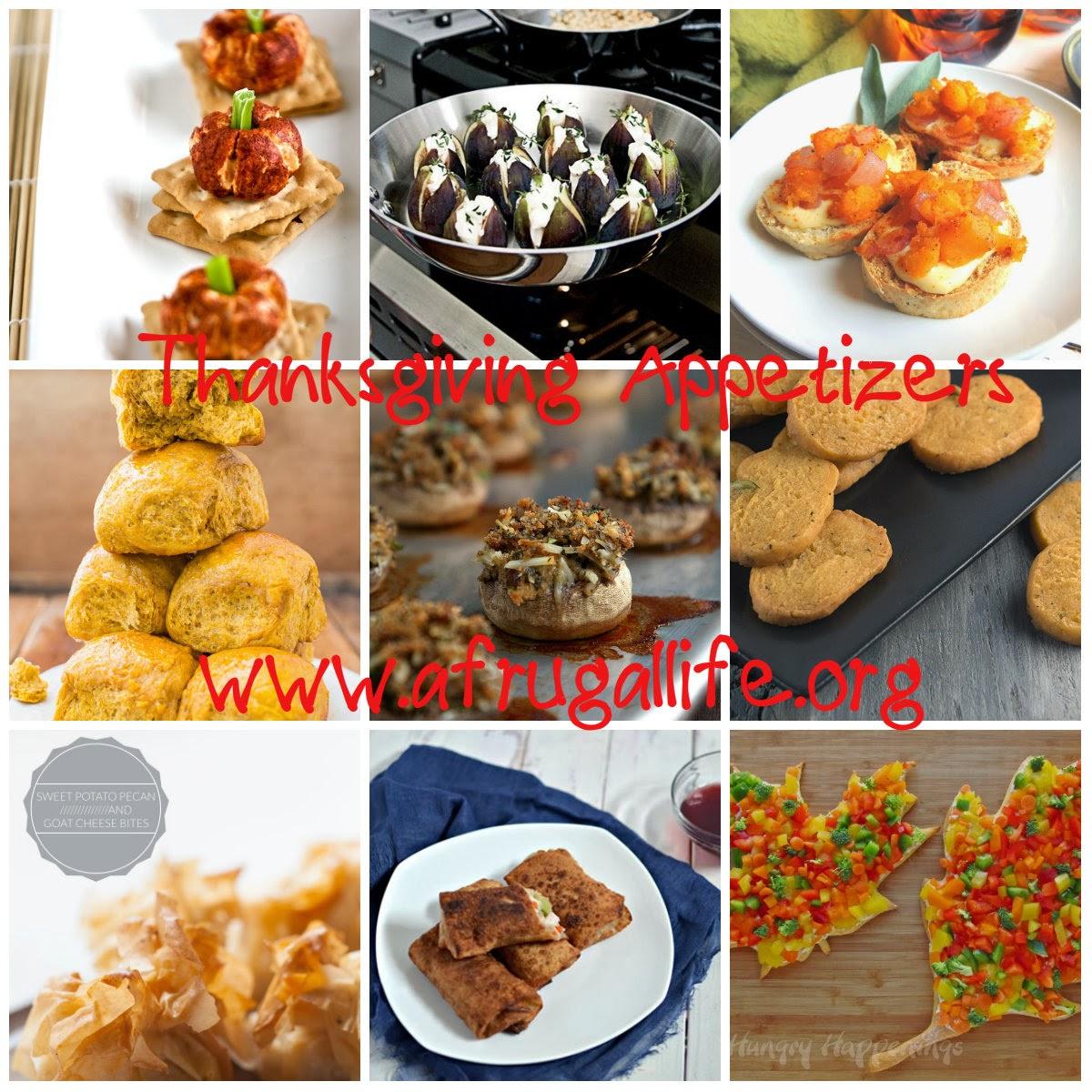 Rhiana Reports Ten Great Thanksgiving Appetizers