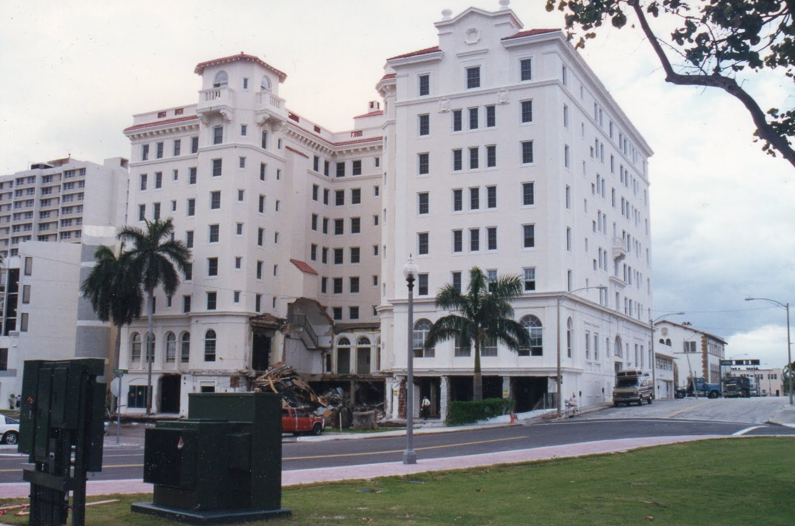 """Pennsylvania Hotel"". West Palm Beach. De- molished. Gone forever."