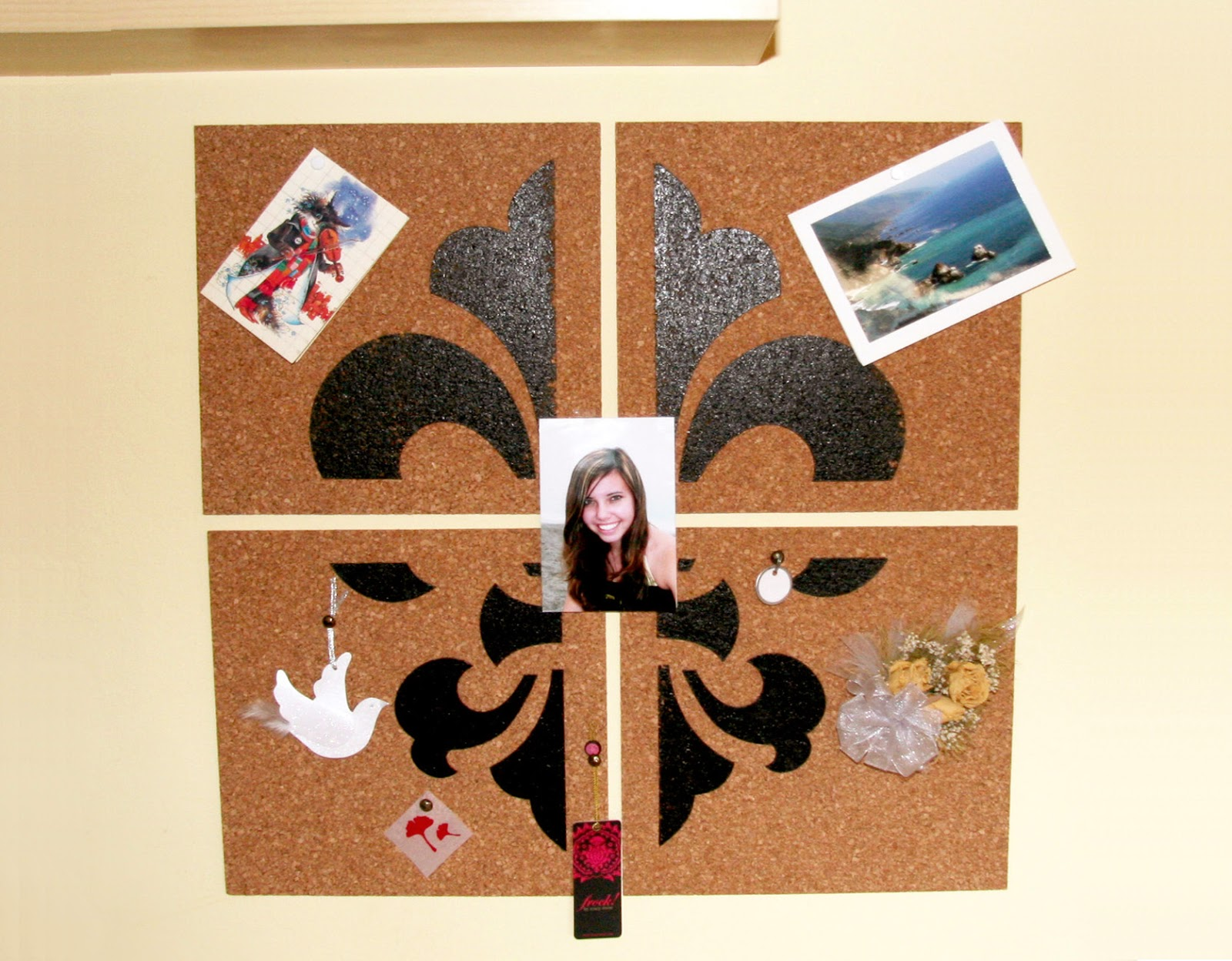 Piece of Art Bulletin Board DIY Project