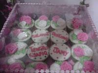 Cupcake Rose Hantaran - Tengku Shafiq, KL