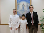Elder Glover's first Baptism