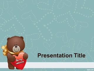 St Valentine PowerPoint Template 001