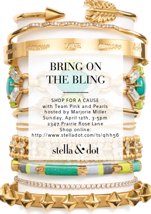 Shop Stella & Dot for Team Pink and Pearls 2015!