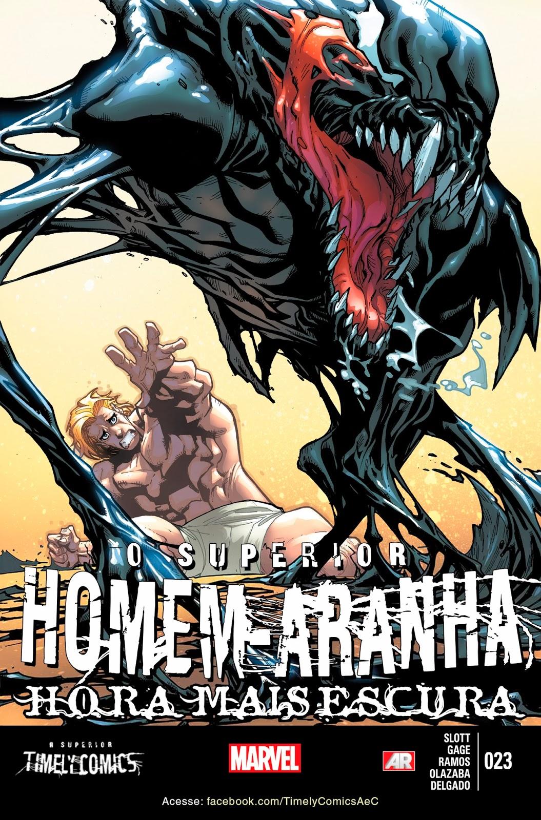 Nova Marvel! O Superior Homem-Aranha #23