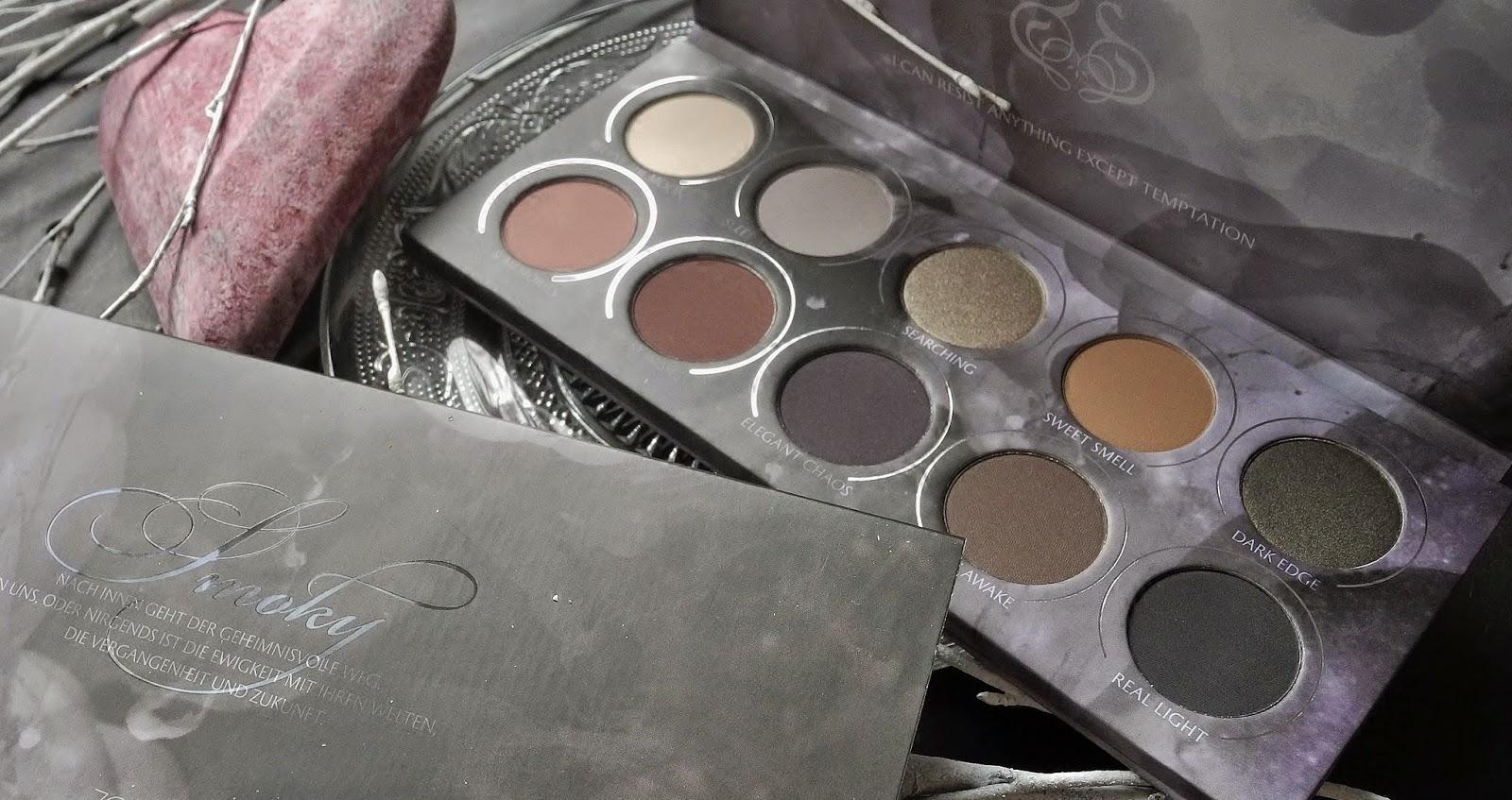 Zoeva Smoky Eyeshadow Palette Review Bubblycolor