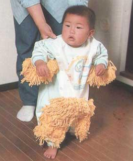funny picture of Chinese baby that funny is dressed