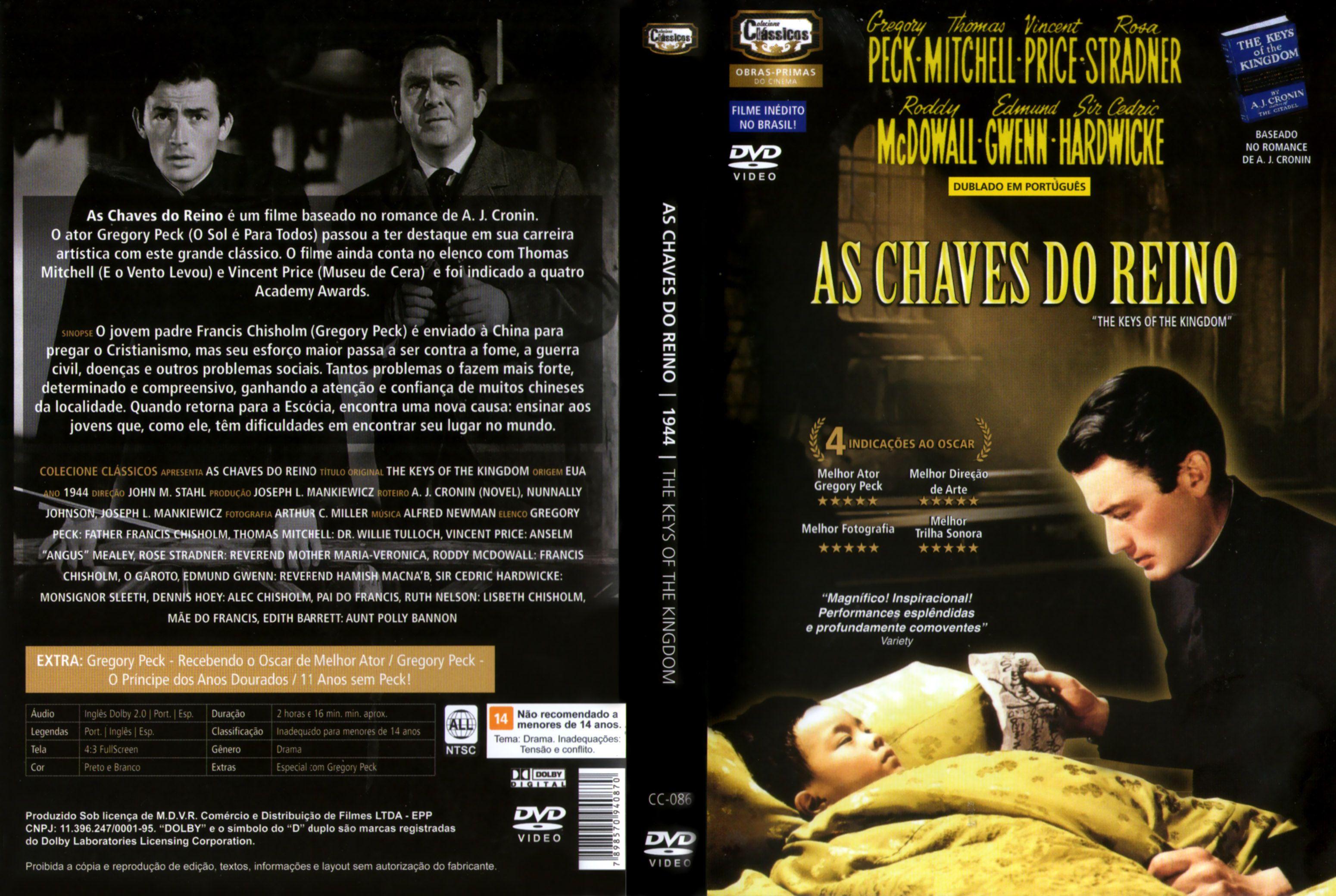 Capa DVD As Chaves Do Reino