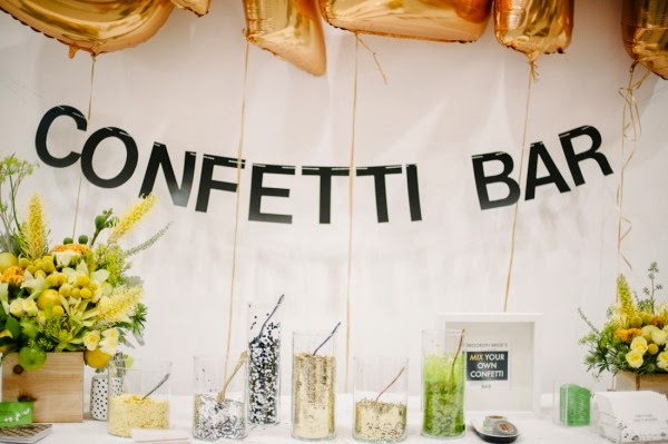 Brooklyn Bride Confetti Bar