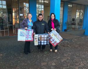 Assistência Social realiza entrega de cobertores e colchões para famílias em Situação de Vulnerabil