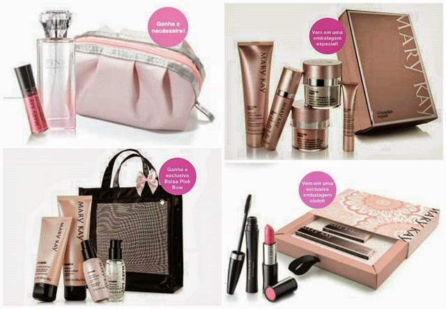 Kits presenteáveis Mary Kay
