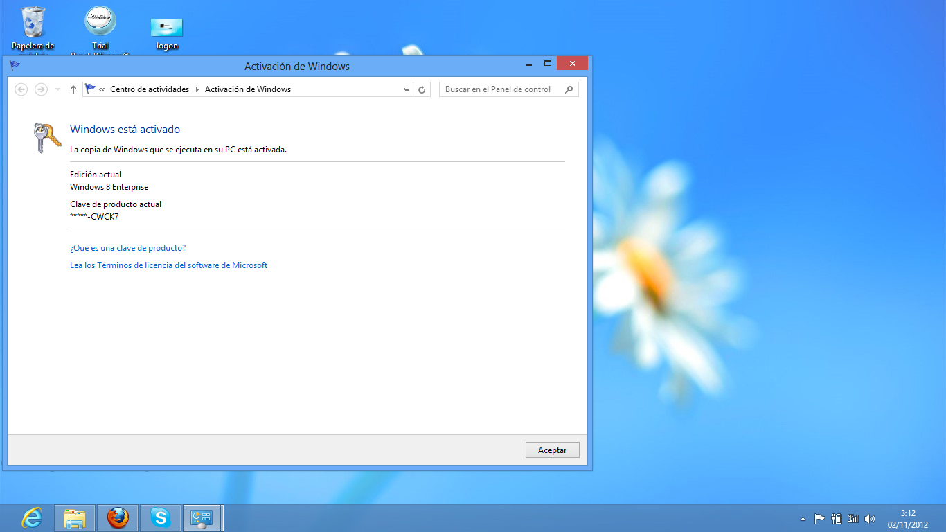 Windows 8 Activador Permanente Gratis