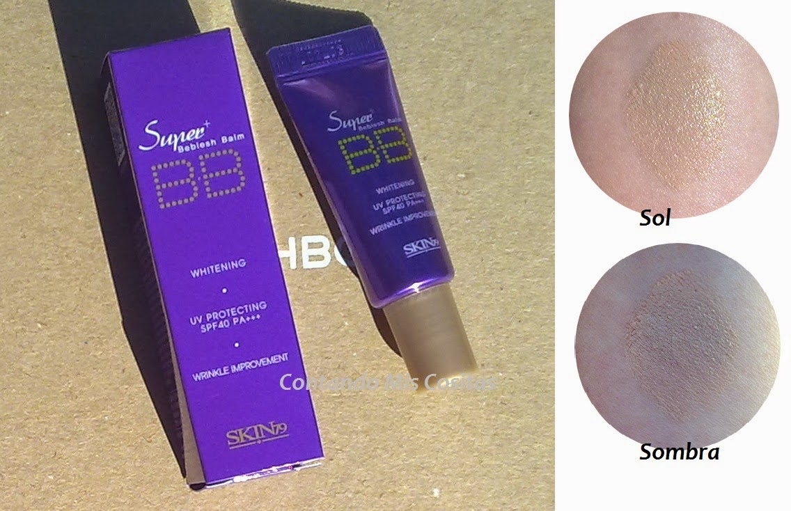 Swatch bb cream skin79