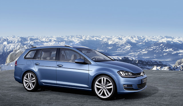 Nuova versione Variant per la Volkswagen Golf VII