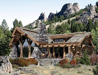 casă din lemn
