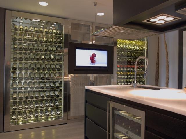 Un espacio encantador a lovely space - Diseno de vinotecas ...