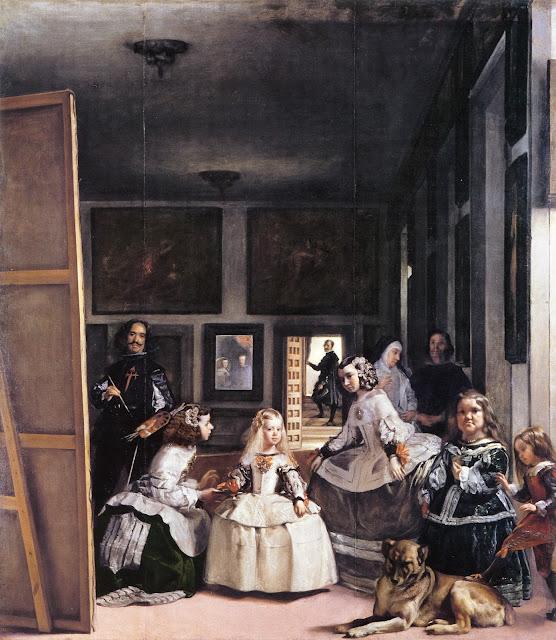 Las Meninas painting by Diego Velazquez