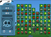Plants Vs Zombies Match 3