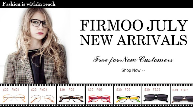 Firmoo Free Glasses for New Customers