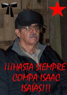 Isaac Isaías: PRESENTE!!!