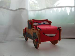 Mater/Lightening hybrid. The worlds next super car.