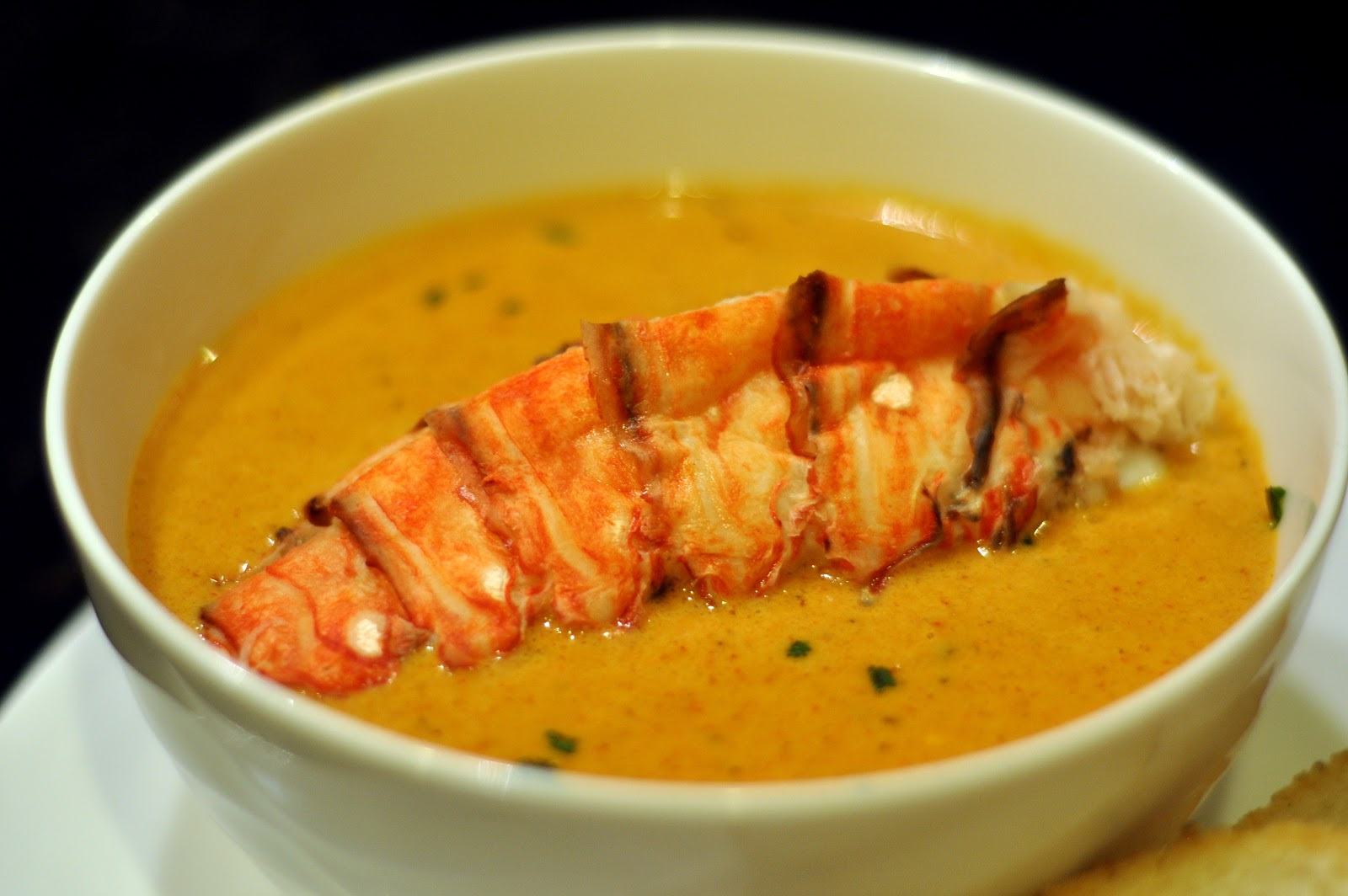 Cooking and Entertaining with Leah: Creamy Lobster Bisque