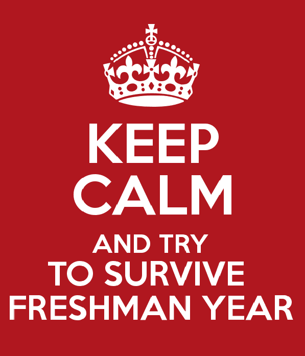 Keep Calm and Try To Survive Freshman Year