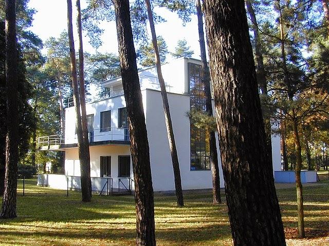 Casas de los Maestros de la Bauhaus en Dessau, Walter Gropius