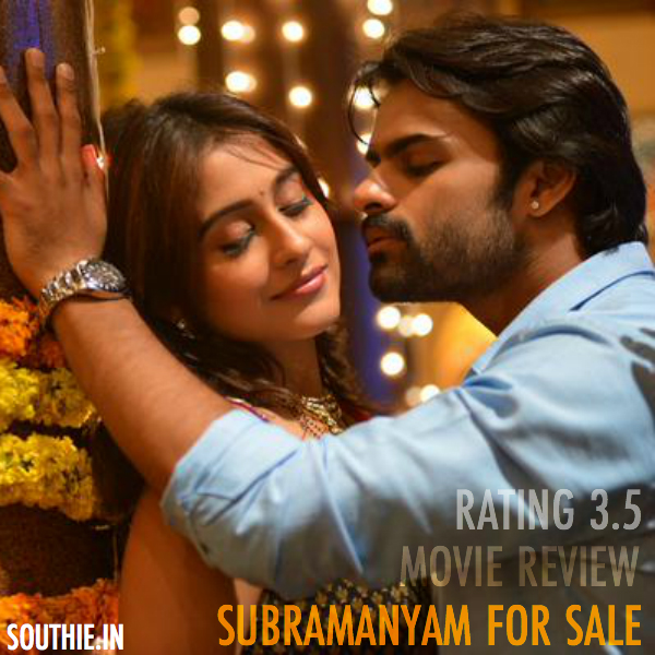 Subramanyam For Sale Movie Review-story-Box Office Performance. Sai Dharam Tej, Regina Cassandra Movie Subramanyam for sale directed by Harish Shankar. Subrmanayam for Sale SuperHIt, Blockbuster Rating, Story,